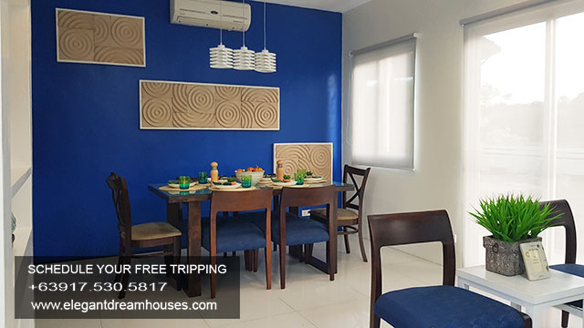 Bellefort Estates Charlotte - Affordable Housing In Cavite Philippines - Dining Area