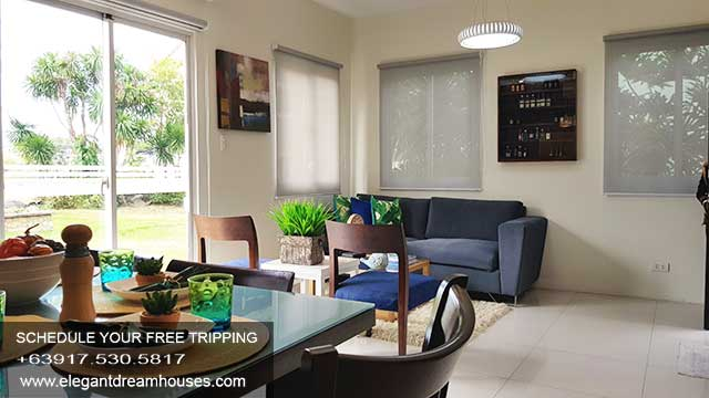 Bellefort Estates Charlotte - Affordable Housing In Cavite Philippines - Living Area