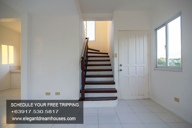 Bellefort Estates Charlotte - Affordable Housing In Cavite Philippines -Stairway