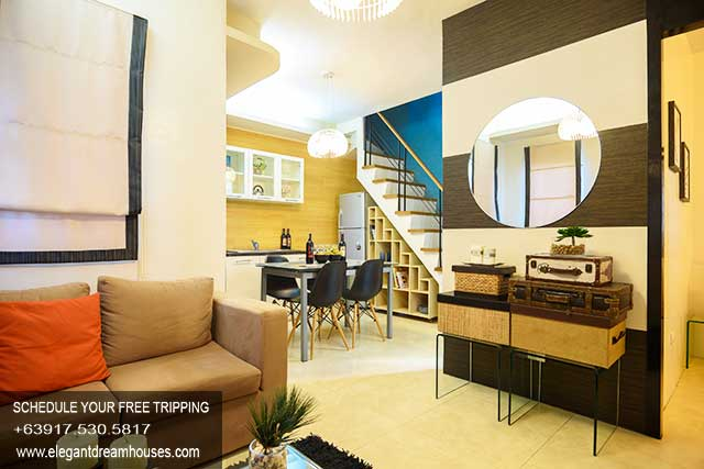 Carmona Estates Pines - Affordable Housing In Cavite Philippines - Living Area