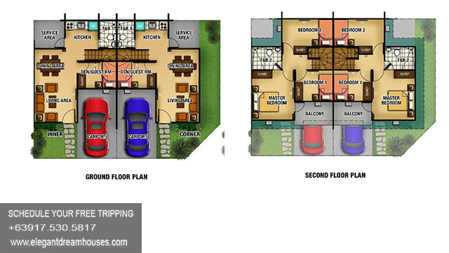 Lancaster New City Adelle - Affordable Housing In Cavite Philippines - Floorplan
