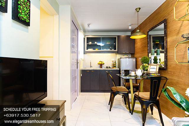 Lancaster New City Emma - Affordable Housing In Cavite Philippines - Dining Area