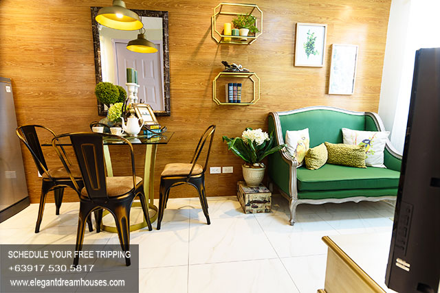 Lancaster New City Emma - Affordable Housing In Cavite Philippines - Living Area