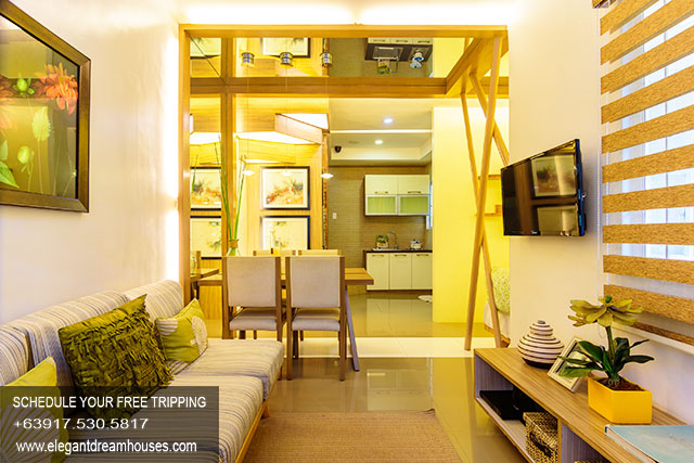 Lancaster New City Thea - Affordable Housing In Cavite Philippines - Living Area